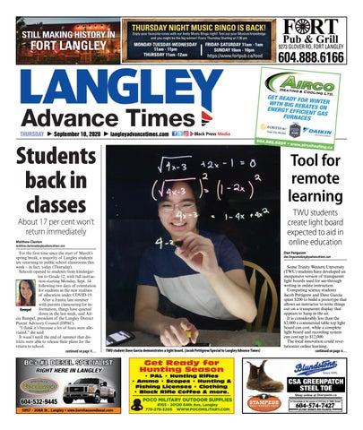 Langley Times, September 10, 2020