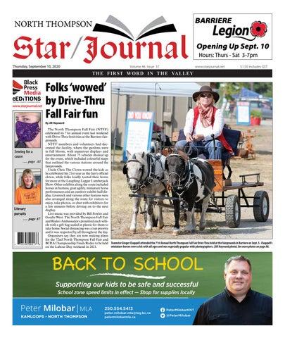 Barriere Star Journal, September 10, 2020