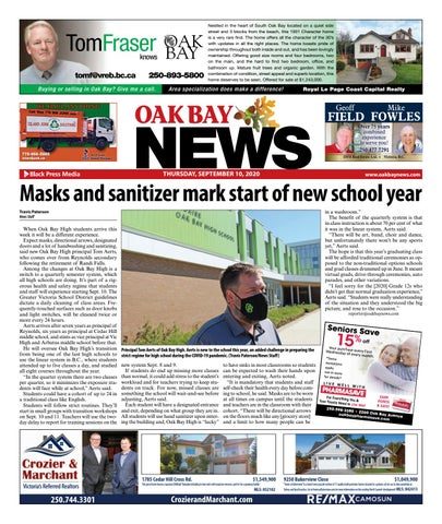 Oak Bay News, September 10, 2020