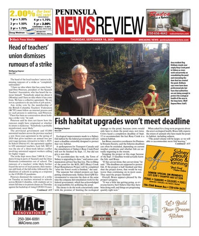 Peninsula News Review, September 10, 2020