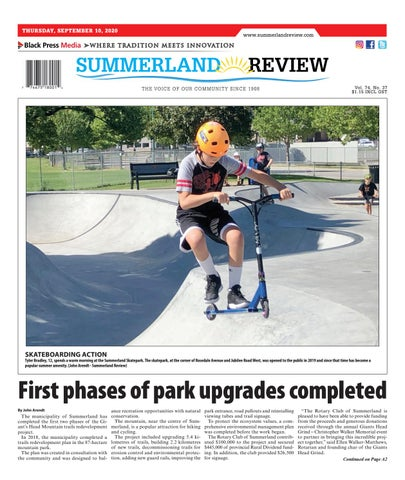 Summerland Review, September 10, 2020