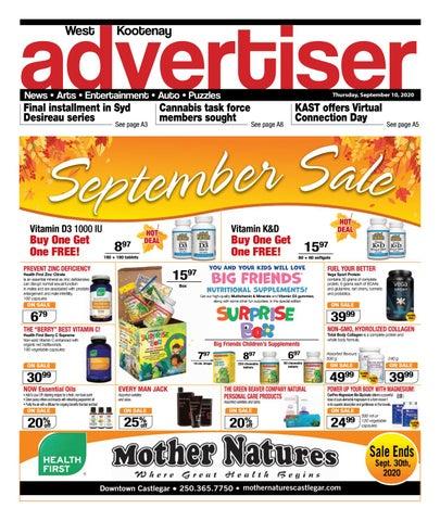 Rossland News/West Kootenay Advertiser, September 10, 2020