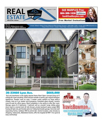 September 11, 2020 Real Estate Weekly - Abbotsford