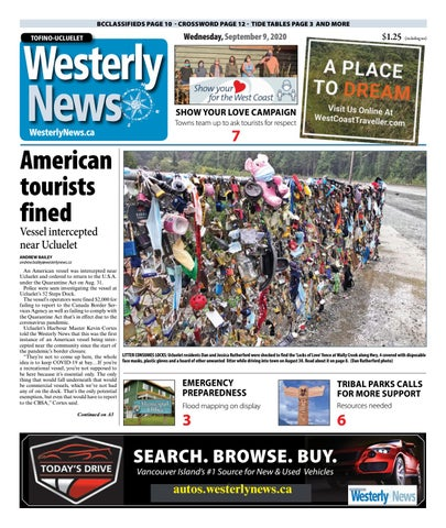 Tofino-Ucluelet Westerly News, September 9, 2020