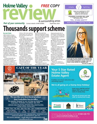 Holme Valley Review, September 2020