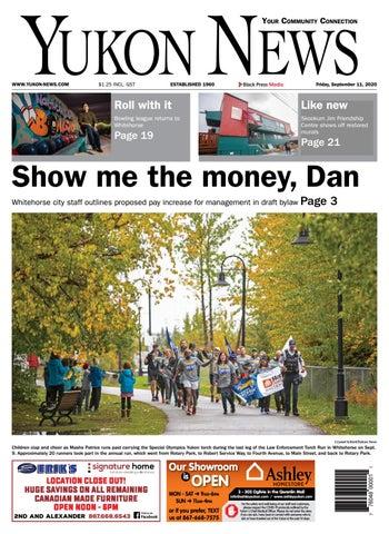 Yukon News, September 11, 2020