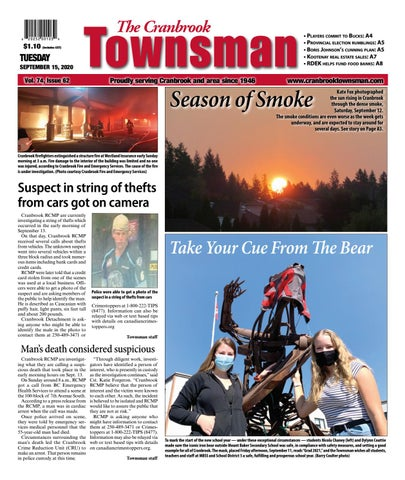 Cranbrook Daily Townsman, September 15, 2020