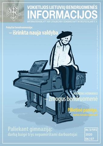 """VLB """"INFORMACIJOS"""", 2020 M. BIRŽELIS-LIEPA NR. 05/592"""