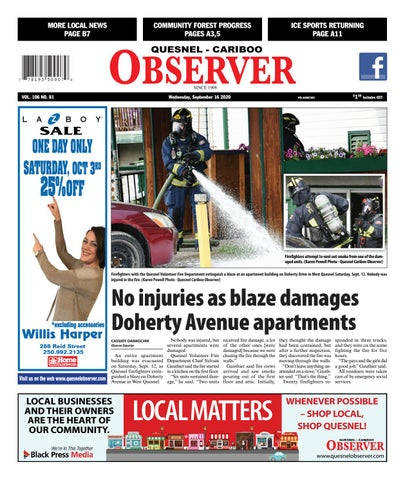 Quesnel Cariboo Observer, September 16, 2020