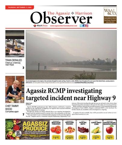 Agassiz Observer, September 17, 2020