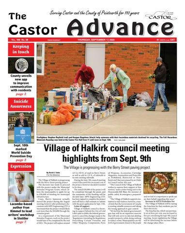 Castor Advance, September 17, 2020