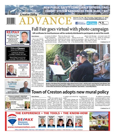 Creston Valley Advance, September 17, 2020