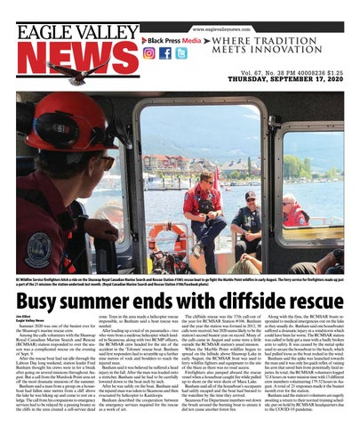 Eagle Valley News, September 17, 2020