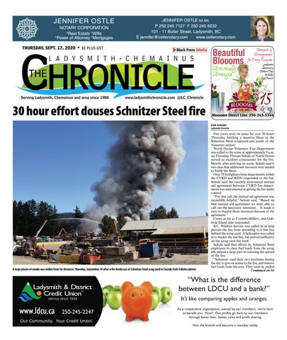 Ladysmith Chronicle, September 17, 2020