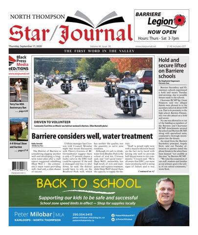 Barriere Star Journal, September 17, 2020