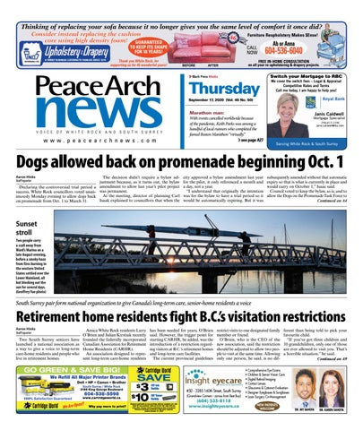 Peace Arch News, September 17, 2020