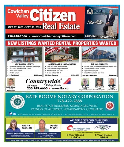 September 17, 2020 Cowichan Valley Citizen