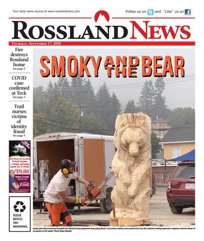 Rossland News/West Kootenay Advertiser, September 17, 2020