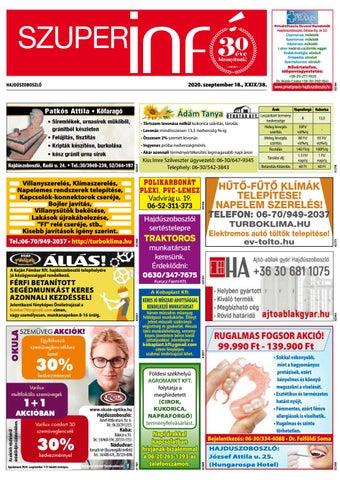 Hajduszoboszlo 2020.09.18