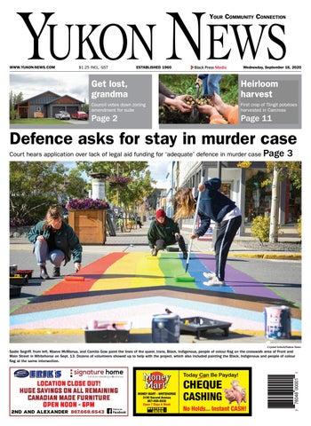 Yukon News, September 16, 2020