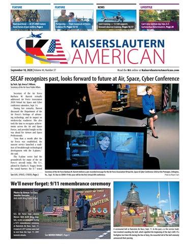 Kaiserslautern American - September 18, 2020