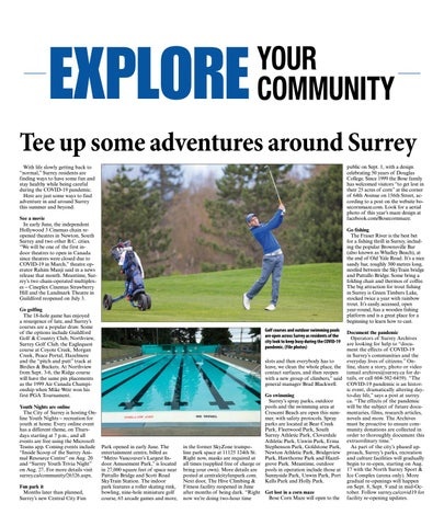 Explore Surrey Summer 2020