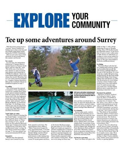 Explore Surrey Summer 2020