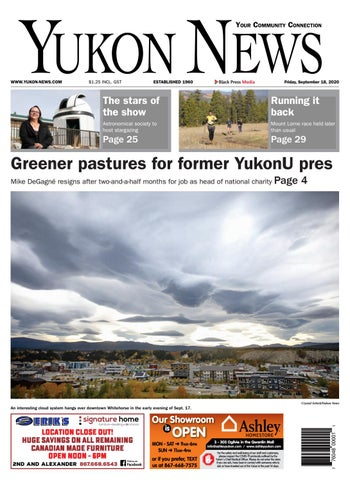 Yukon News, September 18, 2020