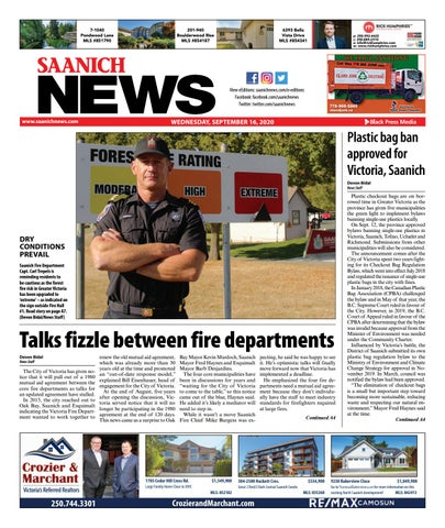 Saanich News, September 16, 2020