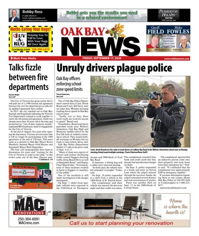 Oak Bay News, September 17, 2020