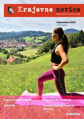 Krajevne novice - september 2020 (letnik 5, št. 6)
