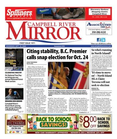 Campbell River Mirror, September 23, 2020