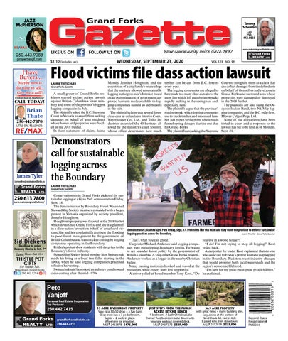 Grand Forks Gazette/West Kootenay Advertiser, September 23, 2020