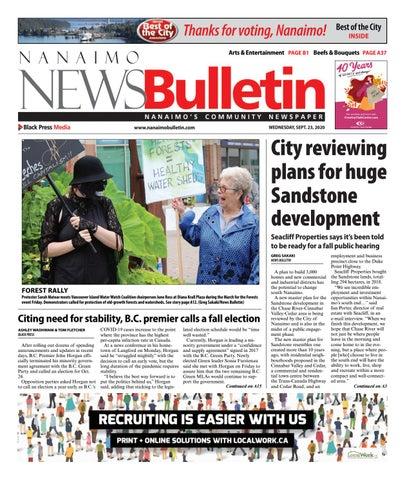 Nanaimo News Bulletin, September 23, 2020