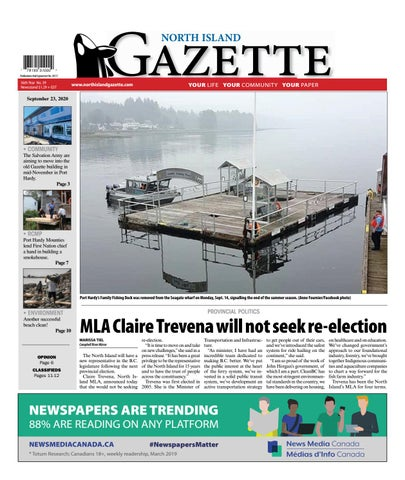 North Island Gazette, September 23, 2020