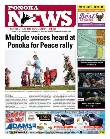 Ponoka News, September 23, 2020