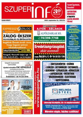 Szeged 2020.09.25