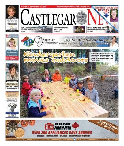 Castlegar News/West Kootenay Advertiser, September 24, 2020
