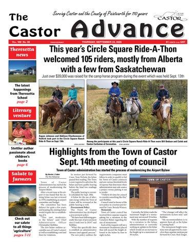 Castor Advance, September 24, 2020