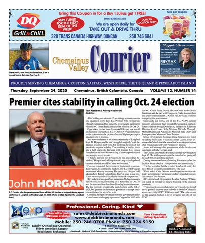 Chemainus Valley Courier, September 24, 2020