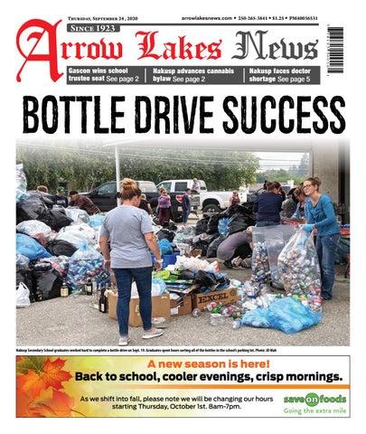 Arrow Lakes News, September 24, 2020