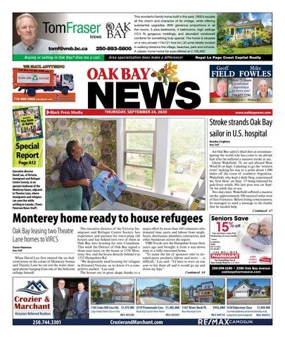 Oak Bay News, September 24, 2020