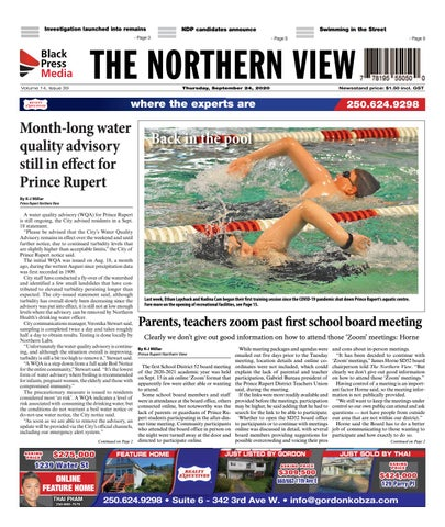 The Northern View/Northern Connector, September 24, 2020