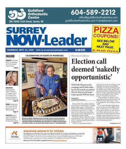 Surrey Now Leader, September 24, 2020