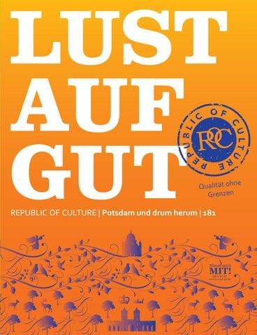 LUST AUF GUT Magazin | Potsdam Nr. 181