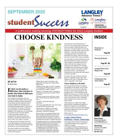 Student Success Sept 2020