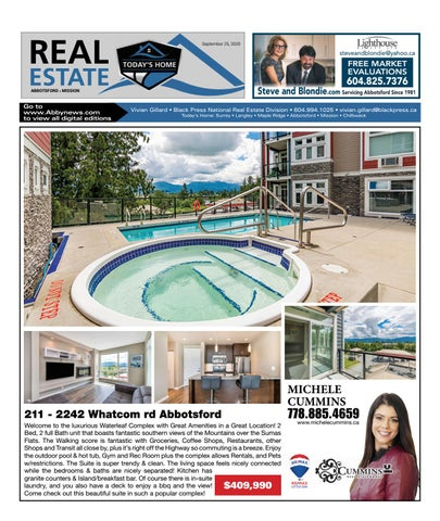 September 25, 2020 Real Estate Weekly - Abbotsford