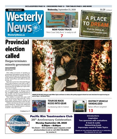 Tofino-Ucluelet Westerly News, September 23, 2020