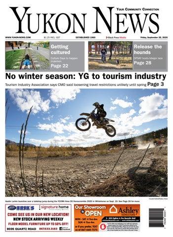 Yukon News, September 25, 2020