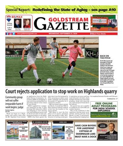 Goldstream News Gazette, September 23, 2020